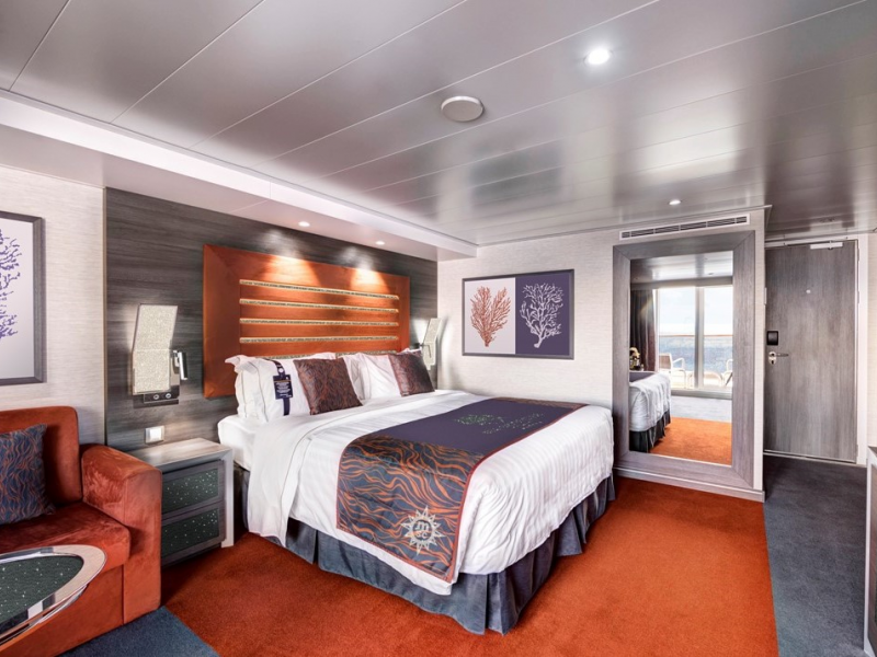 MSC Cruises Reveals A New Crystal Cabin On Board MSC Bellissima  (Rendering based on photo from MSC Meraviglia. © Cruise Critic x MSC Cruises)